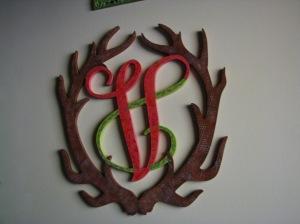 antler monogram